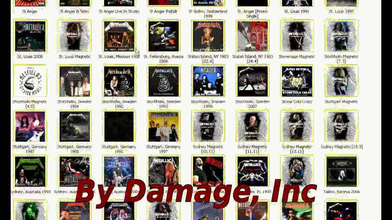 Metallica: The most biggest bootlegs collection in the world