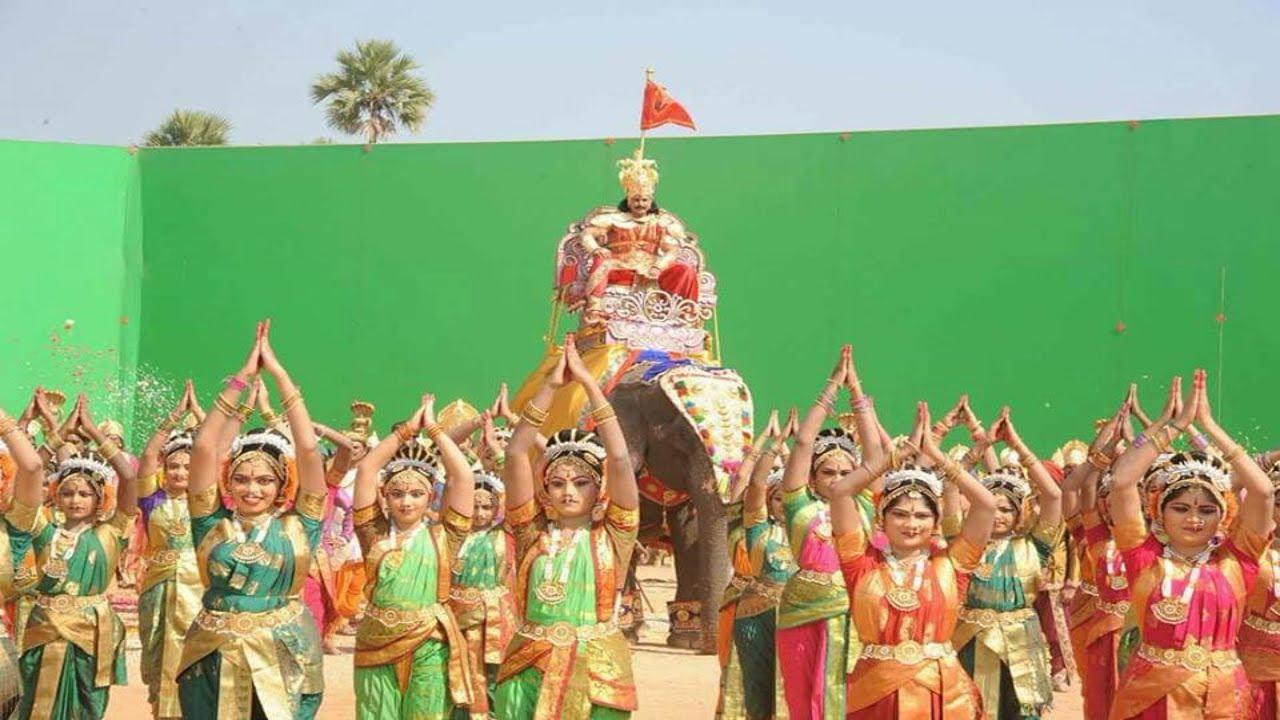 kurukshetra kannada movie title song making youtube