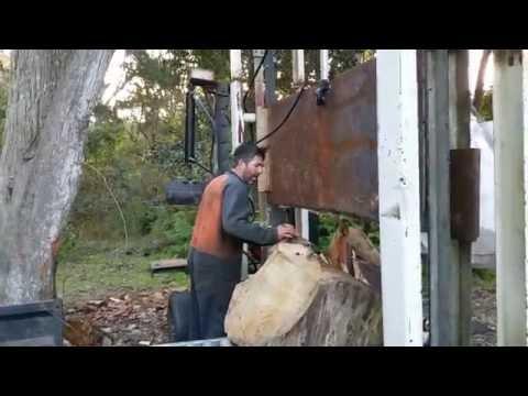Home made Log Splitter