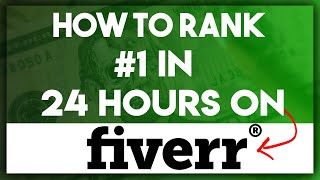 How To Rank Your Fiverr Gig On The First Page Fast! In 2020