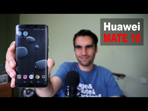 Huawei Mate 10 | unboxing y pre review en español streaming vf