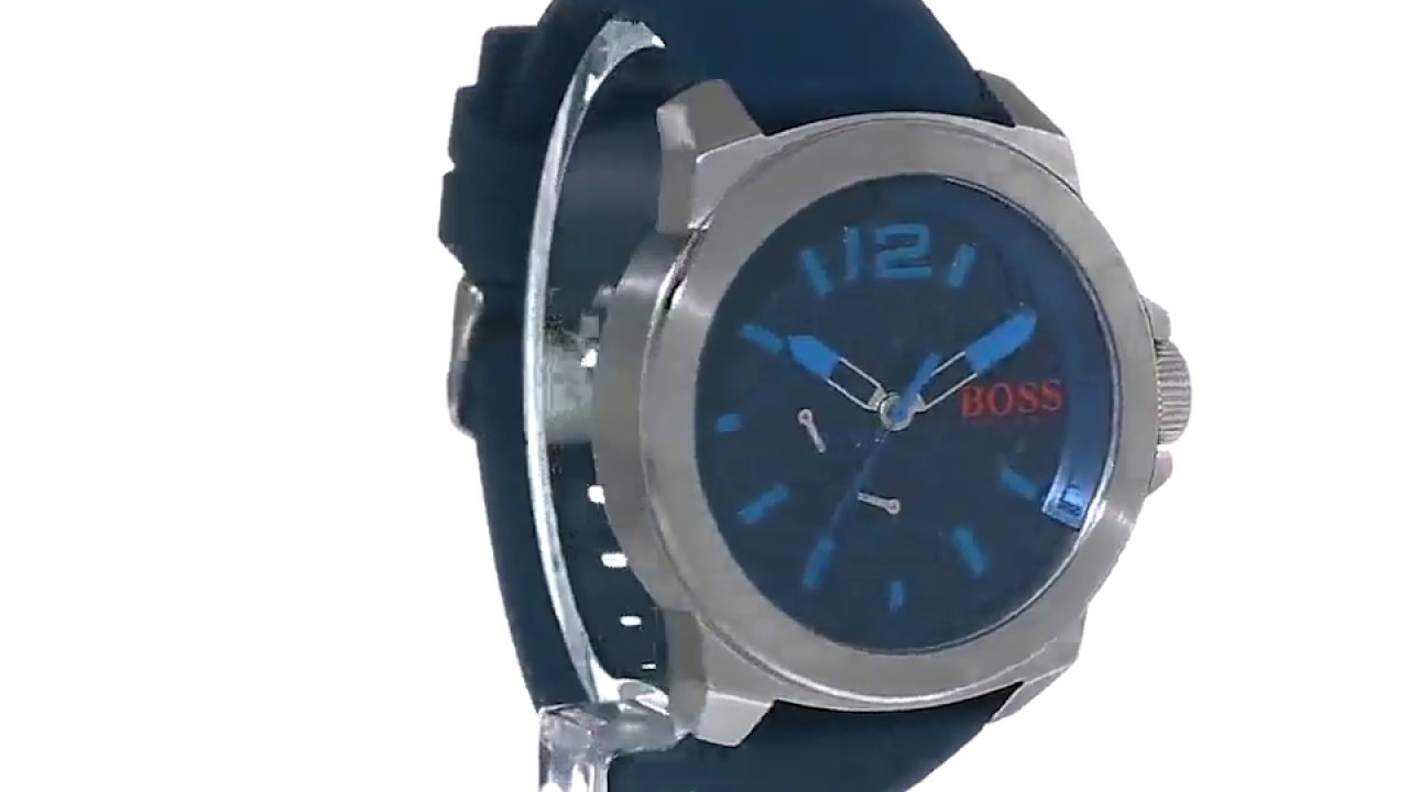 821b7199ae27 Reloj Hugo Boss Orange 1513376 New York - Azul - YouTube
