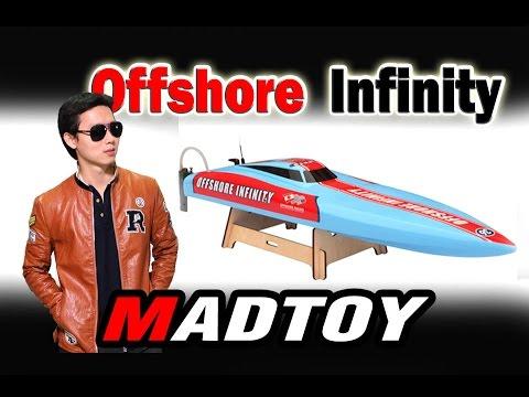 MADTOY ตอนที่191 ขายเรือบังคับไฟฟ้า ลำใหญ่ Offshore Infinity 6900 บาท
