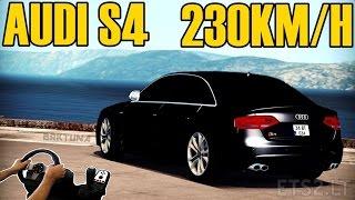 AUDI S4 A 230KM/H - CARRO DO PATRÃO  - VOLANTE G27!!!