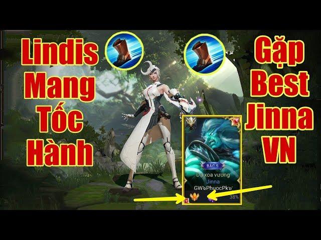 [Gcaothu] Sự kết hợp tuyệt đỉnh giữa Best Jinna Việt Nam với Lindis tốc hành - Team bạn chạy mất dép