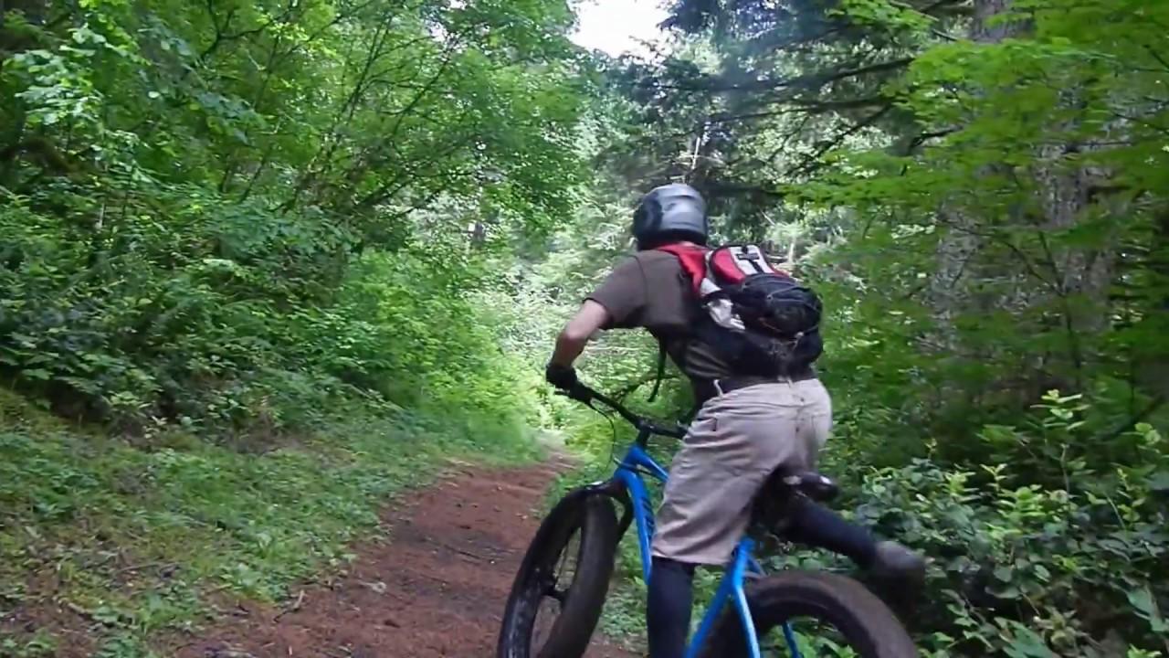 Mountain Biking - Silver Falls State Park- Oregon ...