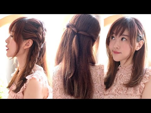 4 Cute Hairstyles for Bangs
