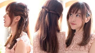 4 Gaya Rambut Poni Simpel Lucu 4 Cute Hairstyles for Bangs Eng Sub Jess Yamada