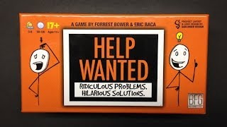 How To Play: Help Wanted