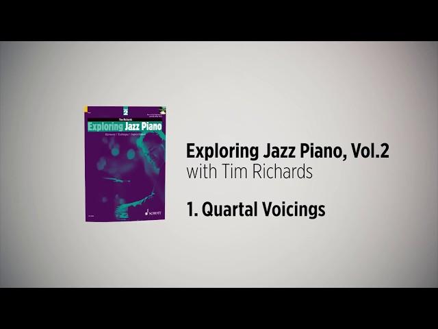 Exploring Jazz Piano Vol 2 – Tim Richards, 1. Quartal Voicings