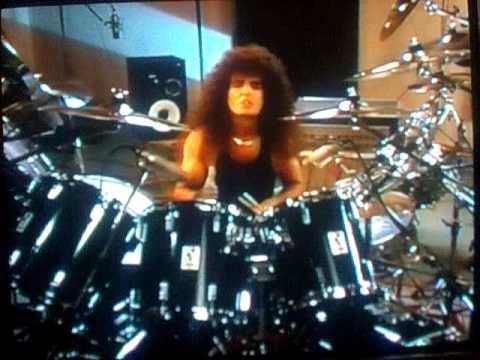 Bobby Rock, super rock drummer, on double bass dru...