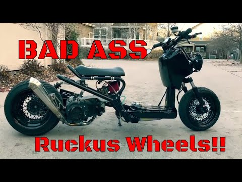 Custom Honda Ruckus wheels anyone? 🎥