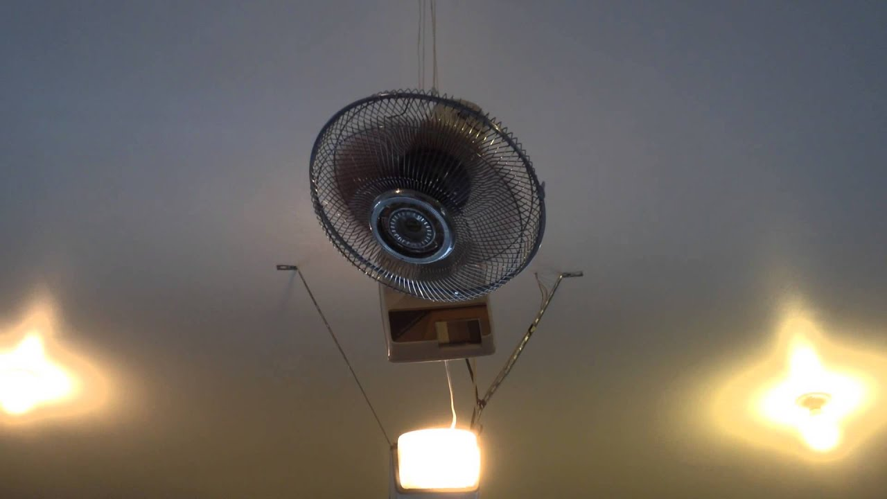 Redneck Garage Ceiling Fan