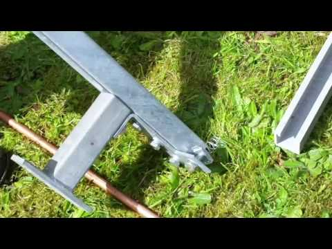Solar Energy earthing rod