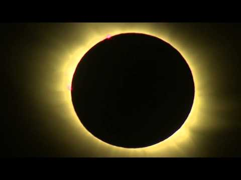 Amazing Total Solar Eclipse March 20th 2015