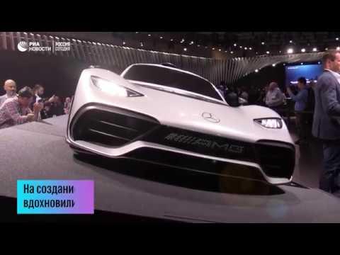Mercedes-Benz и BMW представили свои спорткары на автосалоне в Лос-Анджелесе