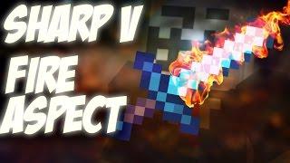 SHARP V - FIRE ASPECT ► UHC RUN