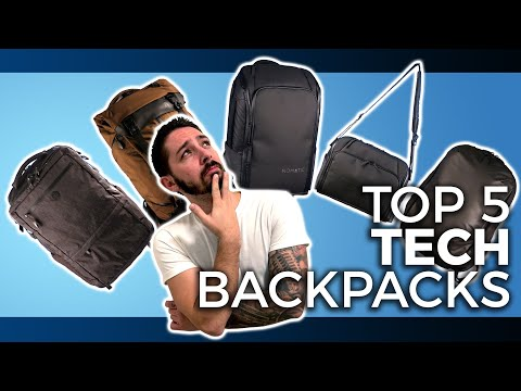 5 Best Tech Backpacks [2021 Guide]