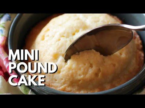 Mini Pound Cake