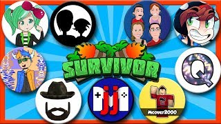 ROBLOX SURVIVOR COLLAB w/ SallyGreenGamer, KreekCraft, G-Rated Family Gaming, and more! GamerBoyJJM