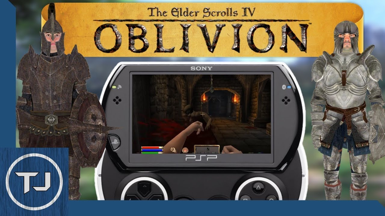 Elder Scrolls Travels: Oblivion! [CANCELLED PSP GAME] 2017!