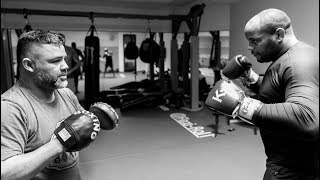 Daniel Cormier's First Days Of Training Camp For UFC 230