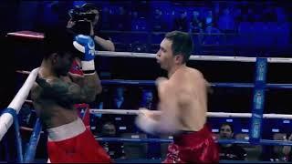 Как непобежденный казахстанский боксер избивал филиппинца в России