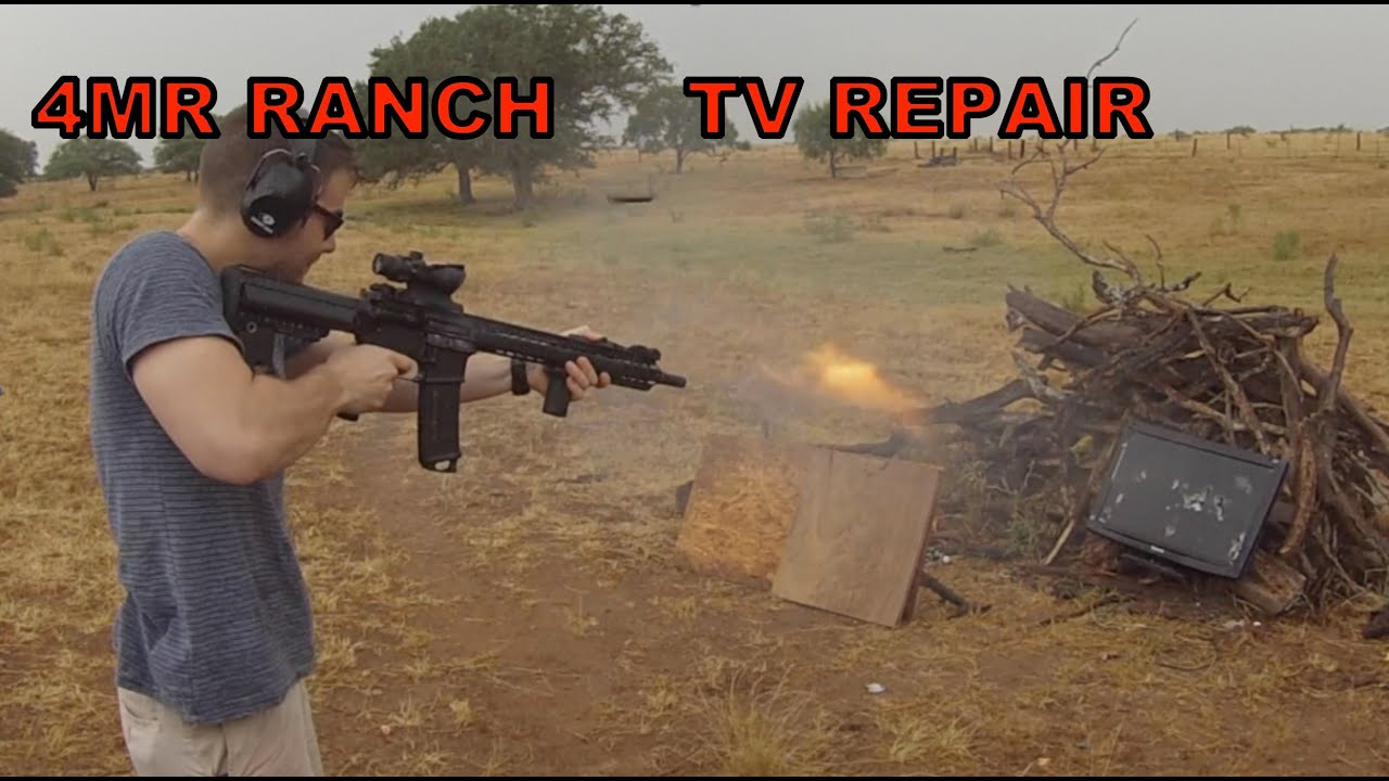 Fixing a Broken TV with Guns