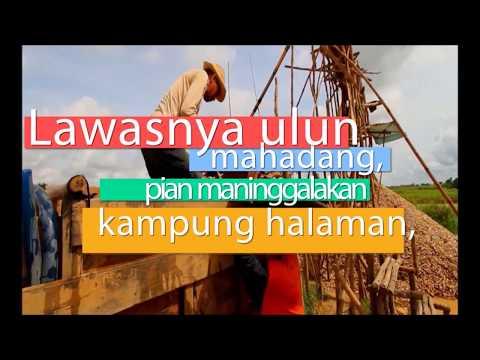 Baras Kuning - Lagu Banjar [Lirik Video]