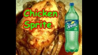 Juicy Tender CHICKEN SPRITE (Pot Roasted Chicken in Clear Soda Sauce) w/ COSTING