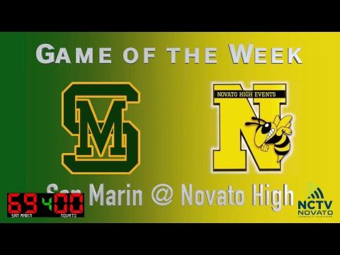 San Marin @ Novato High School Varsity