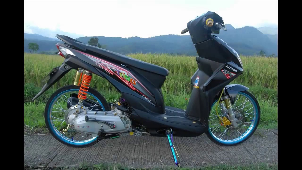 Modifikasi Honda Beat Paling Keren Terbaru 2020 Otomaniac