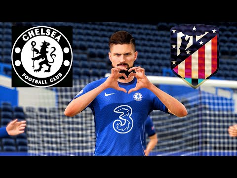 Chelsea - Atletico Madrid | UEFA Champions League 2021 | Gameplay & Full Match | FIFA 21 Prediction |