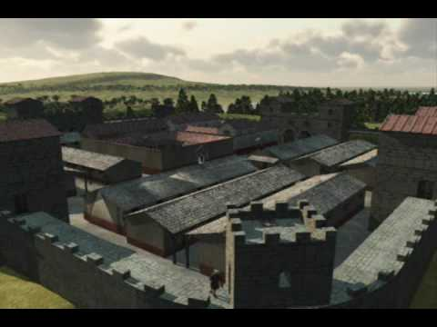 Hadrian's Wall - NewCastle Roman Fort 3D Reconstruction