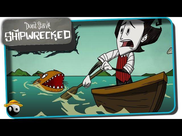 Dont Starve DLC Shipwrecked ? WILSON: O NÁUFRAGO | DONT STARVE NAUFRÁGIO