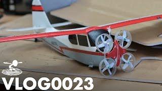 QUAD AIRPLANE DRONE THING | VLOG0023