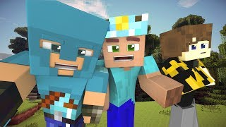 Top Minecraft Songs: The Diamond King! Funny Minecraft Animations Video [Music Jams of July 2017]