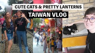 猴硐和十分旅遊 | Visiting the cat village in Taiwan