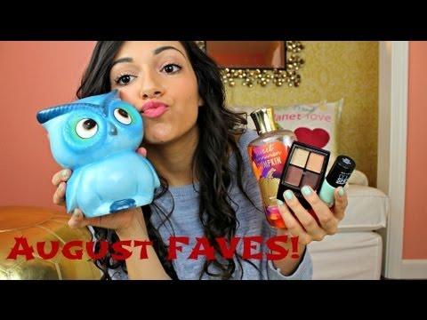 August Favorites!!!