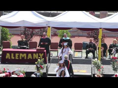 BISHOP ALEMANY HIGH SCHOOL - CLASS OF 2017