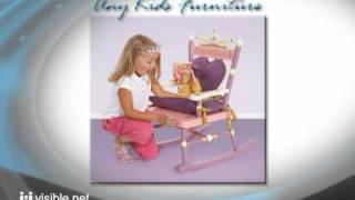 Any Kids Furniture - Kids Table Chair Children Rocking Horse