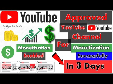 YouTube Channel Approved For Monetization In 3 Days After Under Review 2019