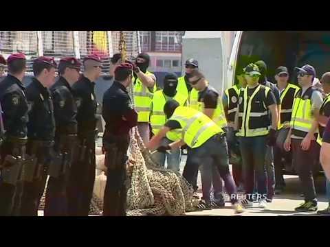 Ecuador seizes huge cocaine haul headed for Spain