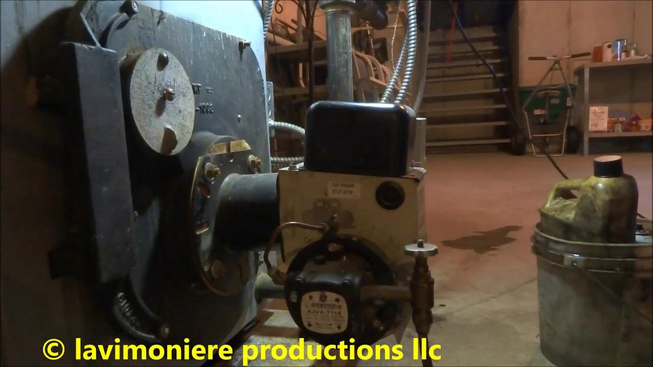 annual oil burner service peerless boiler [ 1280 x 720 Pixel ]