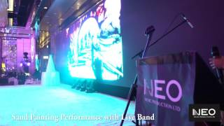Neo Music Production - Sand Painting Performance with Live Band | Hong Kong Wedding Jazz Band