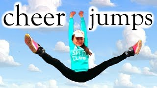 How to get HIGH JUMPS + Toe Touches