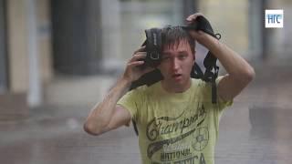 Гроза в Новосибирске 22 июня 2017