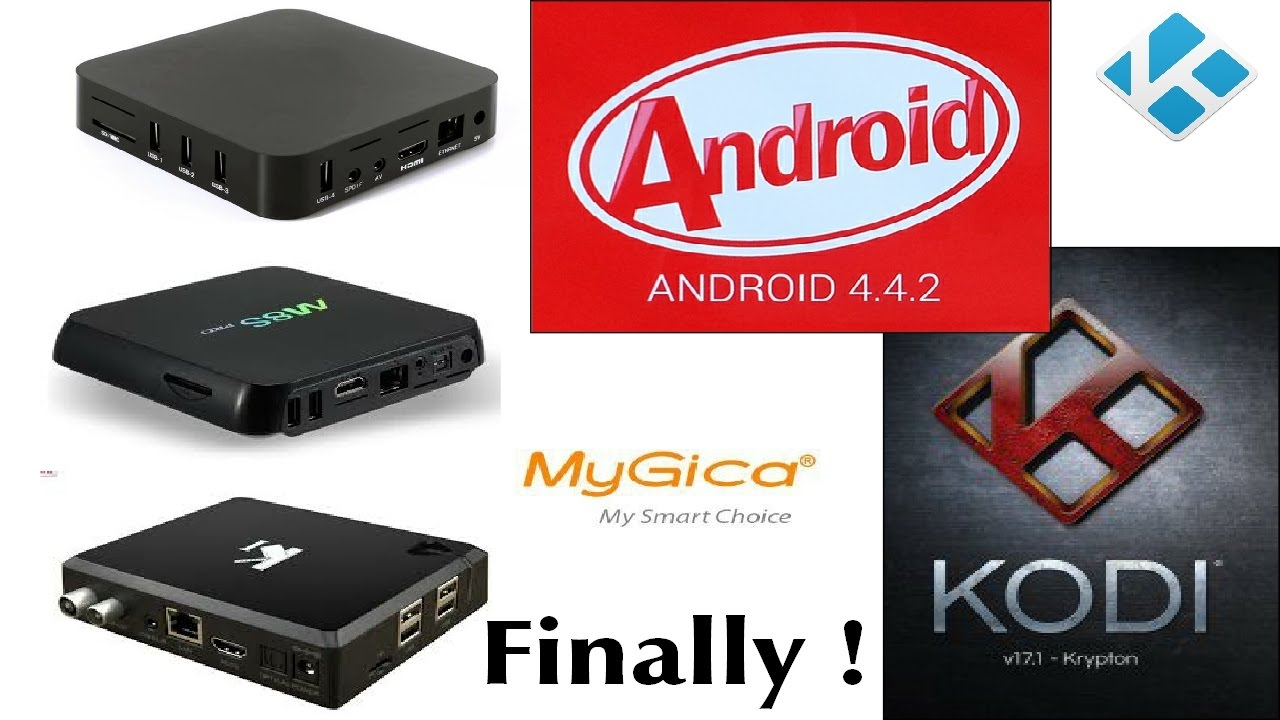 NEWS: Kodi 17 Krypton available for Android KitKat! – The
