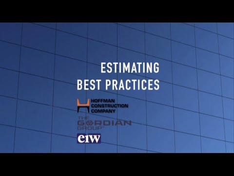 Best Practices - Estimating for GC/CMs: Workshop 1