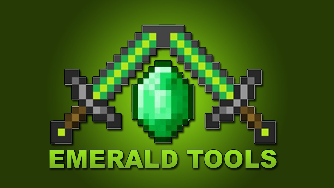 Emerald Sword Minecraft Mod